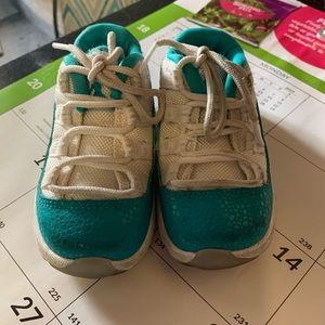 ab08453bd16 Women Aqua 11 Jordans on Poshmark